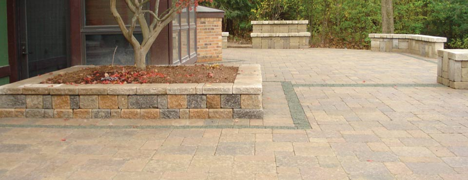 Install - We provide you with the proper installation of hardscapes and softscapes.