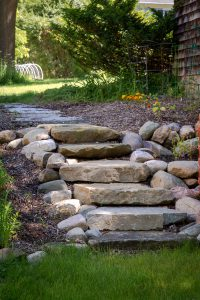 Irregular Mocha Mint Natural Steps