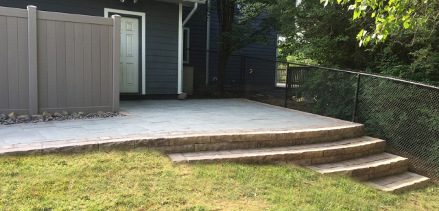 Rosetta Dimensional Flagstone Patio