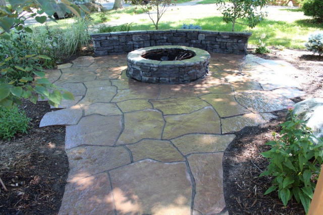 Rosetta Patio and Fire Pit