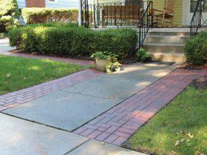 Unilock Hollandstone Rustic Red Walkway Extension